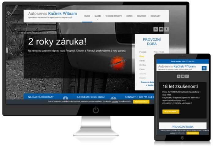 autoservis web