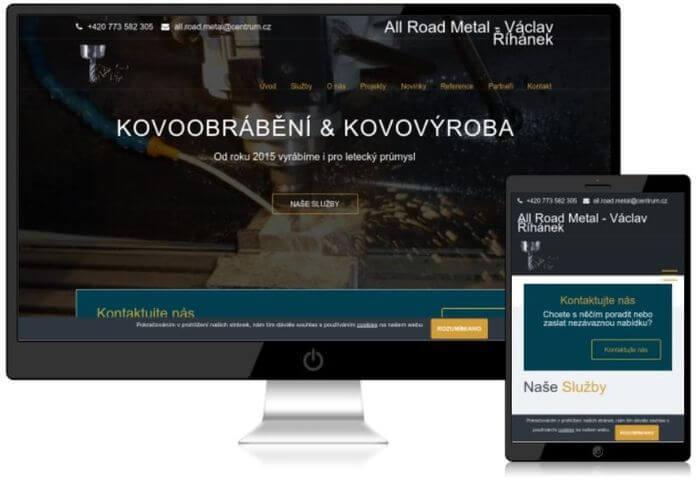 tvorba web stránek