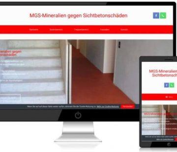 MGS-Mineralien gegen Sichtbetonschäden