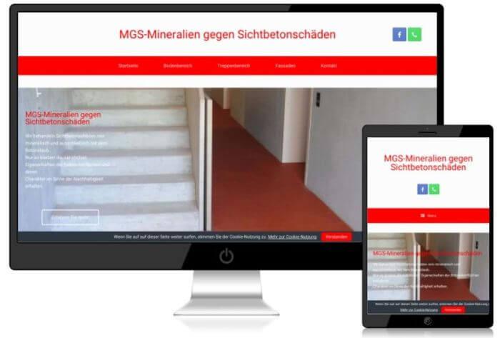 web stavební firma