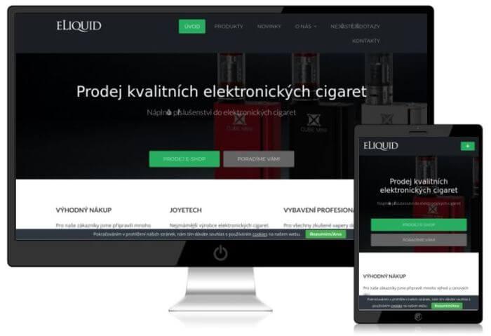 webový stránky