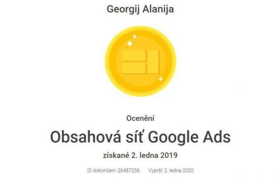 Obsahová síť Google Ads