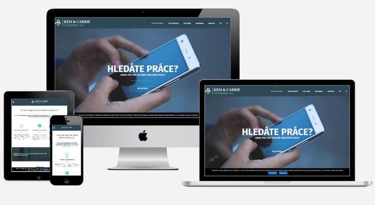 výroba web stránek